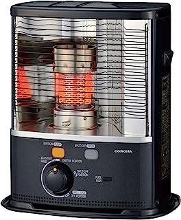 Tecno Air System Corona RX 2485 Negro 2400W - Calefactor (Piso, Negro, Giratorio, 2400 W, 90 m³, 452 mm)
