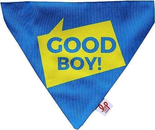 Lana Paws Who's A Good Boy! Dog Bandana/Dog Scarf/Dog Gift (Adjustable)