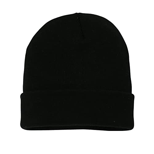 636d5d7d06f Outdoor Trading (TM) Soft-Knit Turn Up Beanie Hat - Slouchy Beanie Hat