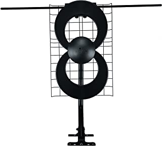 Antennas Direct ClearStream 2V TV Antenna, 60+ Mile Range, UHF/VHF, Multi-directional, Indoor, Attic, Outdoor, Mast w/Pivo...