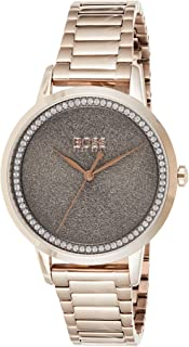 Hugo Boss Womens Quartz Wrist Watch, Analog and Stainless Steel- 1502463