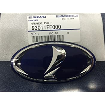 SUBARU OEM 2005 Impreza Grille Grill-Emblem Badge Ornament 93013FE120