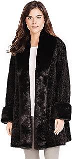 Best black lamb fur coat Reviews