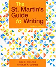 The St. Martin's Guide to Writing PDF