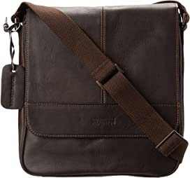 1a410ebed01 Kenneth Cole Reaction Colombian Leather - Flapover Portfolio ...