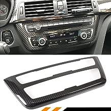 Cuztom Tuning Fits for 2014-18 BMW M3 M4 & 2012-2018 BMW F30 F32 F33 F36 CD AC Console Control Panel Carbon Fiber Trim Hard Cover