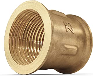 Reducing Coupling Brass Pipe Fittings 1 inch Female x 1