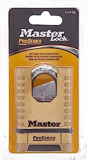 Master Lock Shrouded Combination Padlock, 57 mm Size, Gold