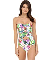 La Blanca - Calypso Island Cut-Out Bandeau One-Piece