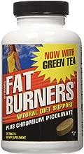 Weider Dynamic Fat Burners | Chromium Picolinate | Green Tea Extract | Cinnamon Powder | Cayenne Powder | 30 Day Supply