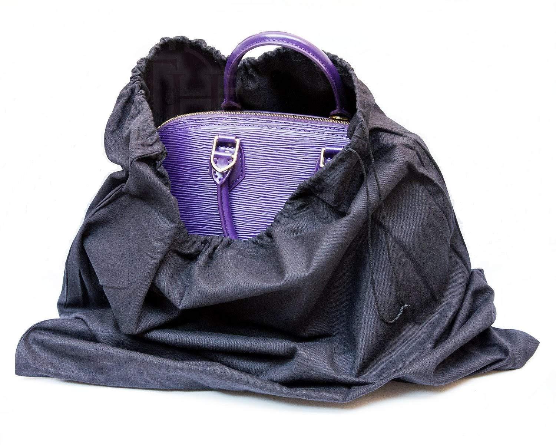 JHGJ 4 Pcs Portable Soft Non-woven Dust-proof Drawstring Travel Shoe Bags Black,White,Pink,Beige