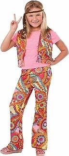 Forum Novelties 60's Hippie Girl Child Costume, Large