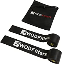 WODFitters Floss Bands for Muscle Compression Tack & Flossing, Mobility & Recovery WODs - Latest Technology - Choose from 2