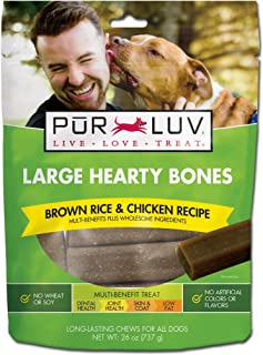 Pur Luv Healthy Support 26-Ounce Hearty Chew Bones