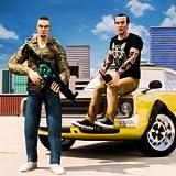 FPS Gangster Gun Shooting & Auto Theft Car Stealing Game