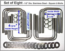 Best stainless steel u bolts Reviews