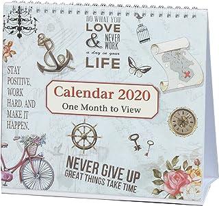 2019年1月独立してスパイラルデスクトップカレンダーを表示、2019年12月までの使用開始、ArpanのLife Inspirational Slogans Art