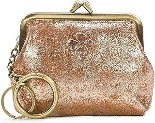 Patricia Nash Lrg Borse Champagne Foil Coin Purse