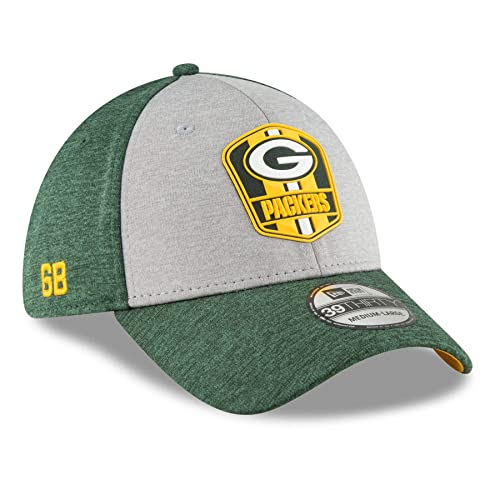 New Era 2018 39Thirty NFL Green Bay Packers Sideline Away Hat Cap 11763340 fd77538b7