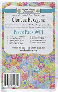 Paper Pieces GLORHEX01 Hexagons Glorious Pack 1