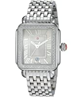 Michele - Deco Madison Stainless Steel Cashmere Diamond Watch