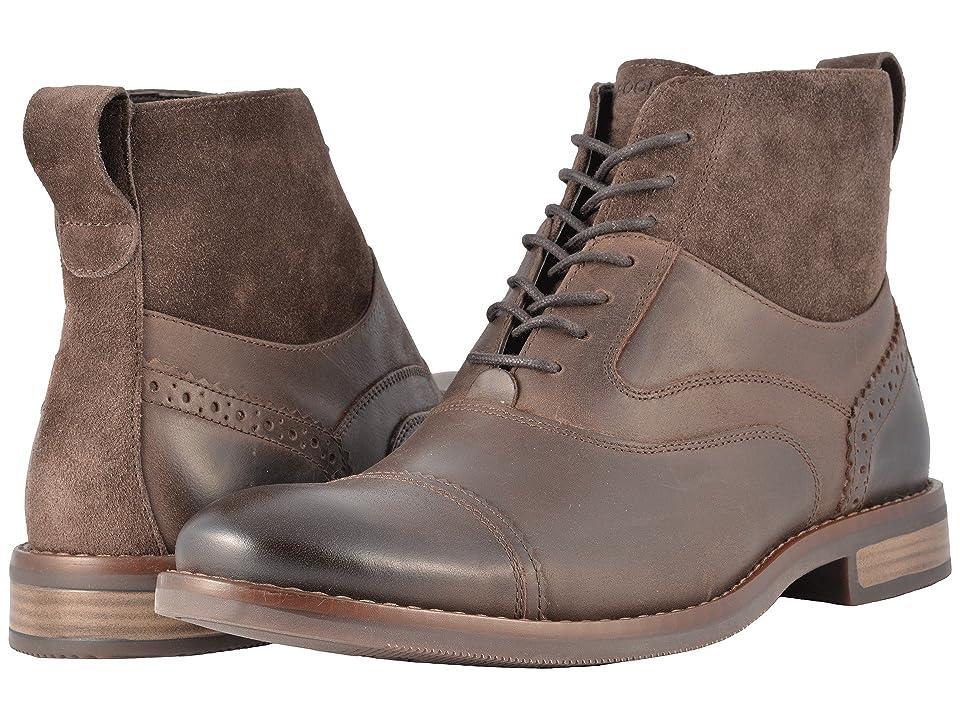 Rockport Wynstin Cap Boot (Dark Bitter Chocolate) Men