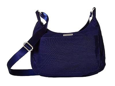 Baggallini Legacy Peekaboo Medium Hobo (Navy/Firework Print) Hobo Handbags