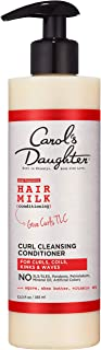 Curly Hair Products by Carol's Daughter, Hair Milk Sulfate Free Cleansing Conditioner For Curls, Coils and Waves, with Aga...