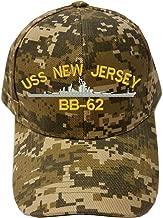 KP USS NEW JERSEY BB-62 SHIP Digital Camo Camouflage Military Baseball Cap Hat