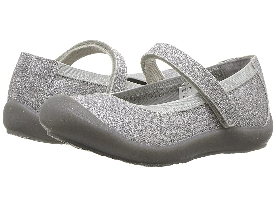 Hanna Andersson Ania (Toddler/Little Kid) (Silver) Girls Shoes