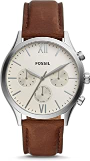 Fossil Fenmore Analogue Men's Watch (Off-White Dial)