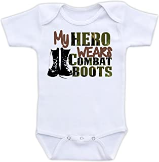 my daddy wears combat boots onesies
