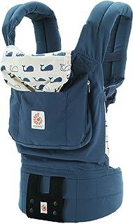 エルゴベビー(Ergobaby) 抱っこひも おんぶ可 [日本正規品保証付] (日本限定ベビーウエストベルト付) (洗濯機で洗える) 装着簡単 ベビーキャリア オリジナル/マリーン CREGBCMNF14NL