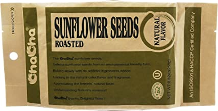 ChaCha Sunflower Roasted & Salted Seeds All Natural Flavor 8.82 Oz z (Pack of 1)