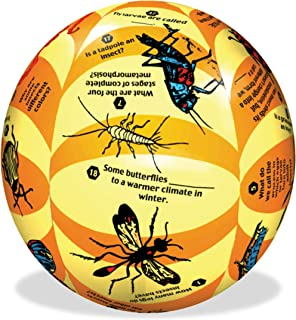 """American Educational Vinyl Clever Catch Elementary Science Insects Ball, 24"""" Diameter"""