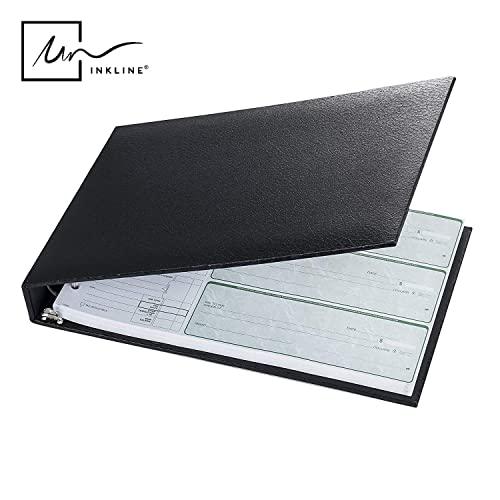 Black Desk Checkbook Cover