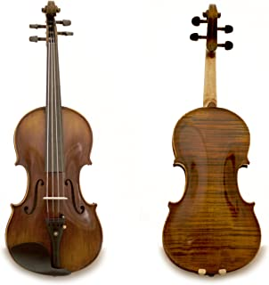 Sky AAA+ Maple and Spruce Euro-performer Series Guarantee Grand Mastero Sound Copy of Stradivarius 4/4 Size Professional Hand-made One-piece Back 4/4 Full Size Acoustic Violin 100% Hand-made 100% Oil Varnished Ebony Parts