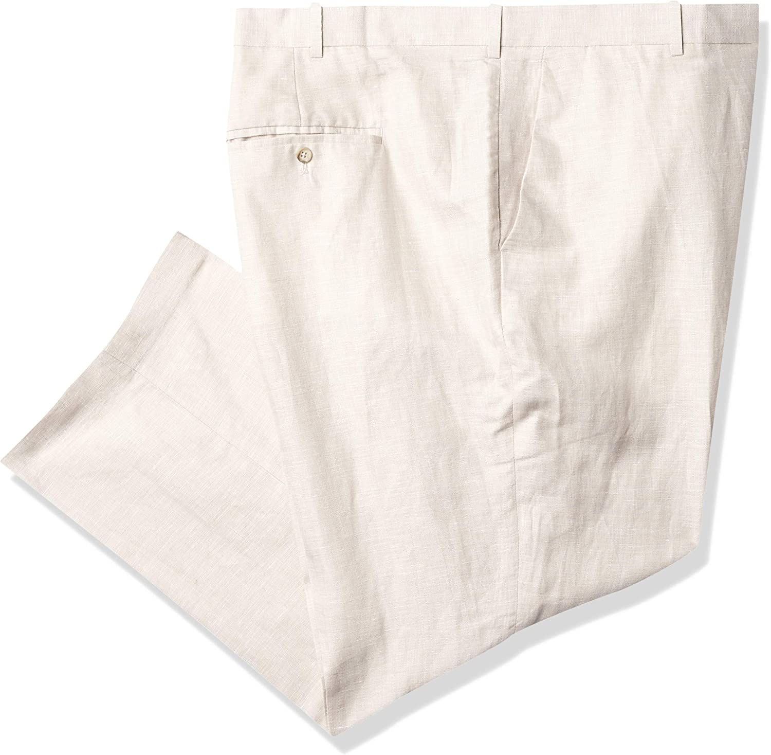Perry Ellis Men's Linen Suit Pant Big and Tall