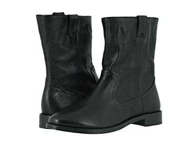 Johnston & Murphy Lenora (Black Washed Sheepskin) Women