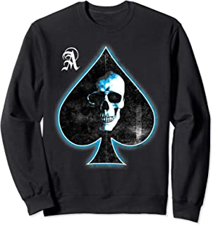 Ace of Spades Skull Poker Sweatshirt