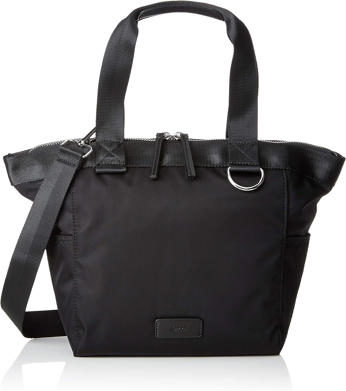 Esprit Accessoires 029ea1o038, Women's Tote, Black, 11x28x27 cm (B x H T)