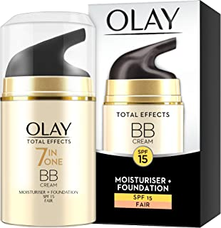 Total Effects 7 en 1 BB Cream de Olay 7-en-1 Cutis Base SPF 15 - 50ml Light
