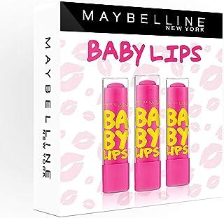 Maybelline New York Baby Lips x3