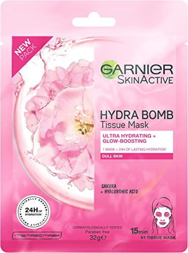 Garnier SkinActive Hydra Bomb Tissue Face Mask Sakura