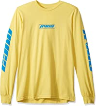 RVCA Men's Warehouse Long Sleeve Crew Neck T-Shirt