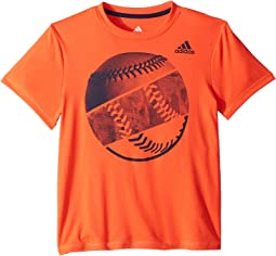 adidas Kids - Hacked Sport Ball Tee (Big Kids)