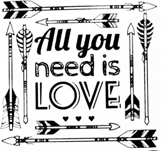 Main Street Wall Decal Removable Stickers All You Need is Love Arrows