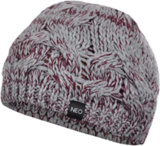 adidas NEO Womens Chunky Cable Knit Beanie - One Size