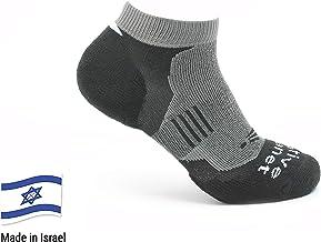 IDF Tested Versatile Technowool Fiber Unisex Native Planet Patrol Cushioned Military Boot Socks