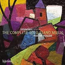 Dohnanyi: Complete Solo Piano Music